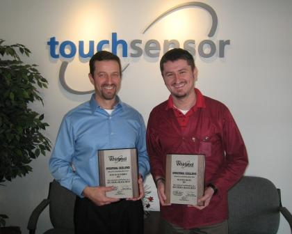 TouchSensor employees receive Six Sigma Black Belt certifications